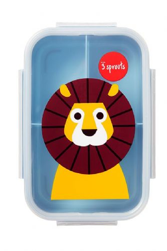 3 Sprouts Lunch (Bento) Box - Lion
